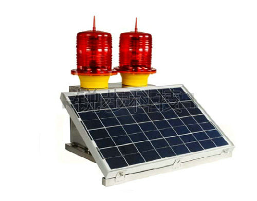 ZH-878-3/S solar low intensity of B type duplex obstacle lamp